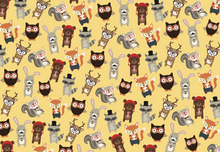 Hipster Animals Wrapping Paper