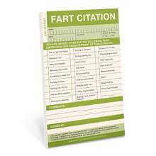 Fart Citation Big Sticky