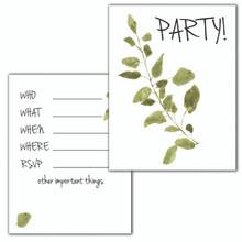 Fern Invitation Set