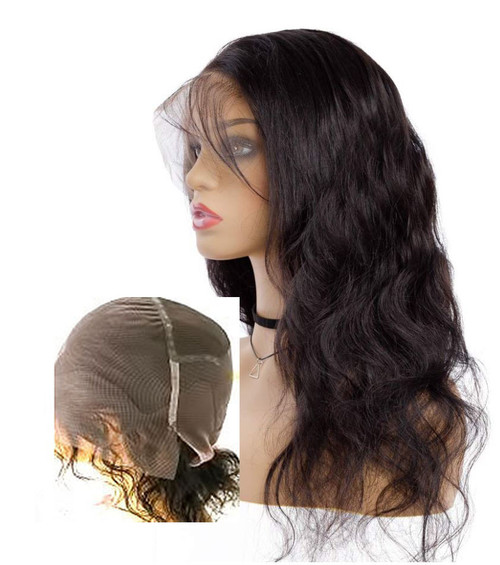 Pre-made Stock System  Full lace long hair system