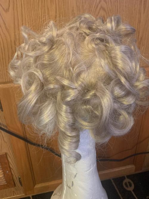 Human Grey Hair Top Piece - Man or Woman