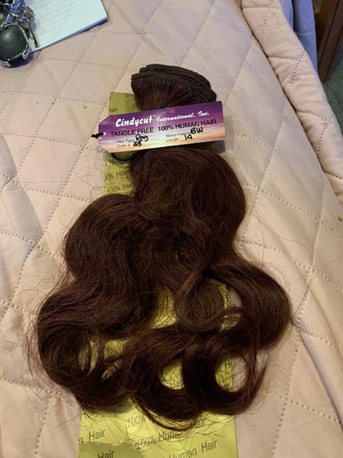 100% Human Hair Extensions Auburn