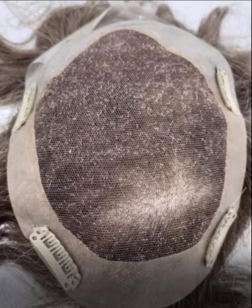 Human Hair Clip on Topper