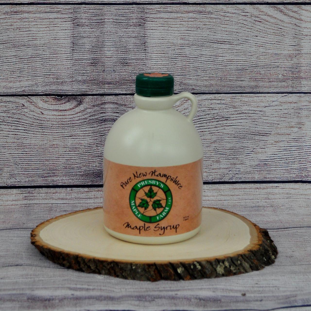 Quart of Presby's Maple Farm LLC Maple syrup