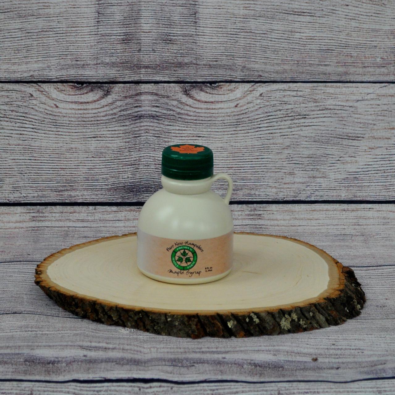 1/2 pint of Presby's Maple Farm LLC maple syrup