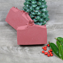 Cranberry Holiday soap -- image 1