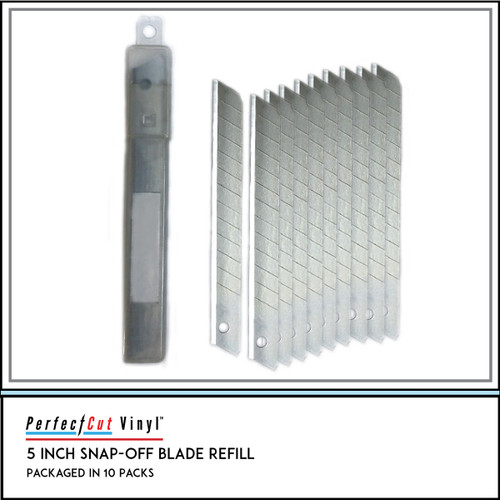 Metal and Plastic Snap Off Utility Knife Refill