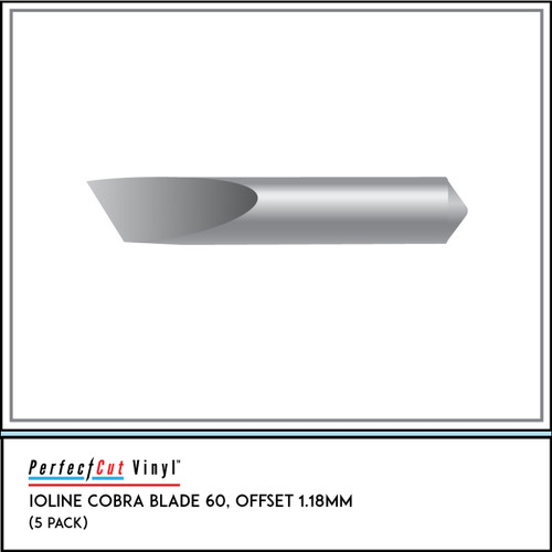 Ioline Cobra Blade 60, Offset 1.18mm (5 Pack)