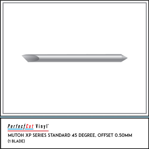Mutoh XP Series Standard 45 Degree, Offset 0.50mm (1 Blade)