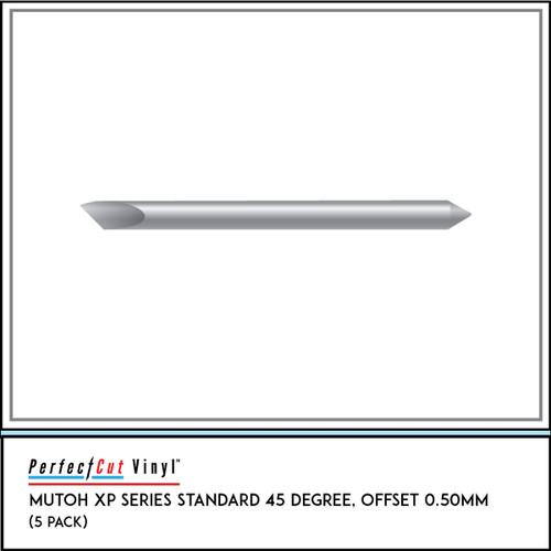 Mutoh XP Series Standard 45 Degree, Offset 0.50mm (5 Pack)