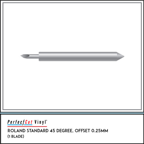 Roland Standard 45 Degree, Offset 0.25mm (5 Pack)
