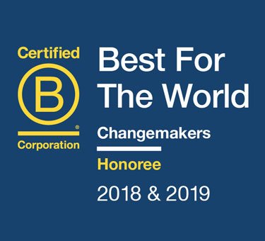 Best for the World 2019 Changemakers Honoree.