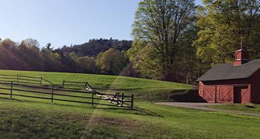 Vermont landscape.