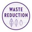 Recycling icon indicating New Chapter's commitment to waste and carbon footprint reduction, as well as energy recovery.