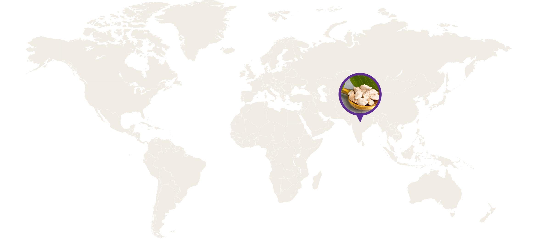 ashwagandha farmers map