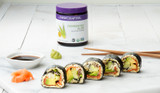 Grain-Free Aloe-Boosted Keto Sushi Rolls