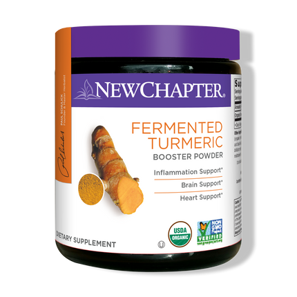 Fermented Turmeric Booster Powder Packaging
