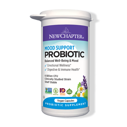 Mood Support Probiotic Packaging
