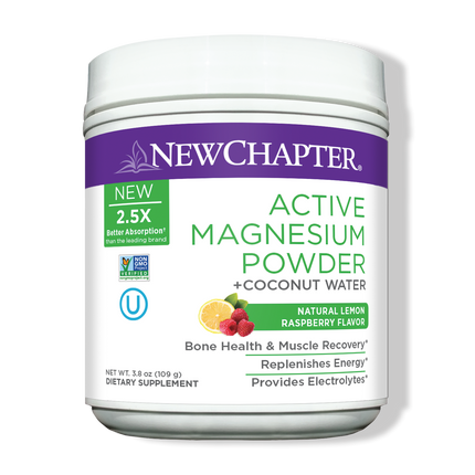 Active Magnesium Powder 35 Serving Product Packaging