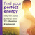 Find your perfect energy: Nourish body & mind with 22 vitamins & minerals
