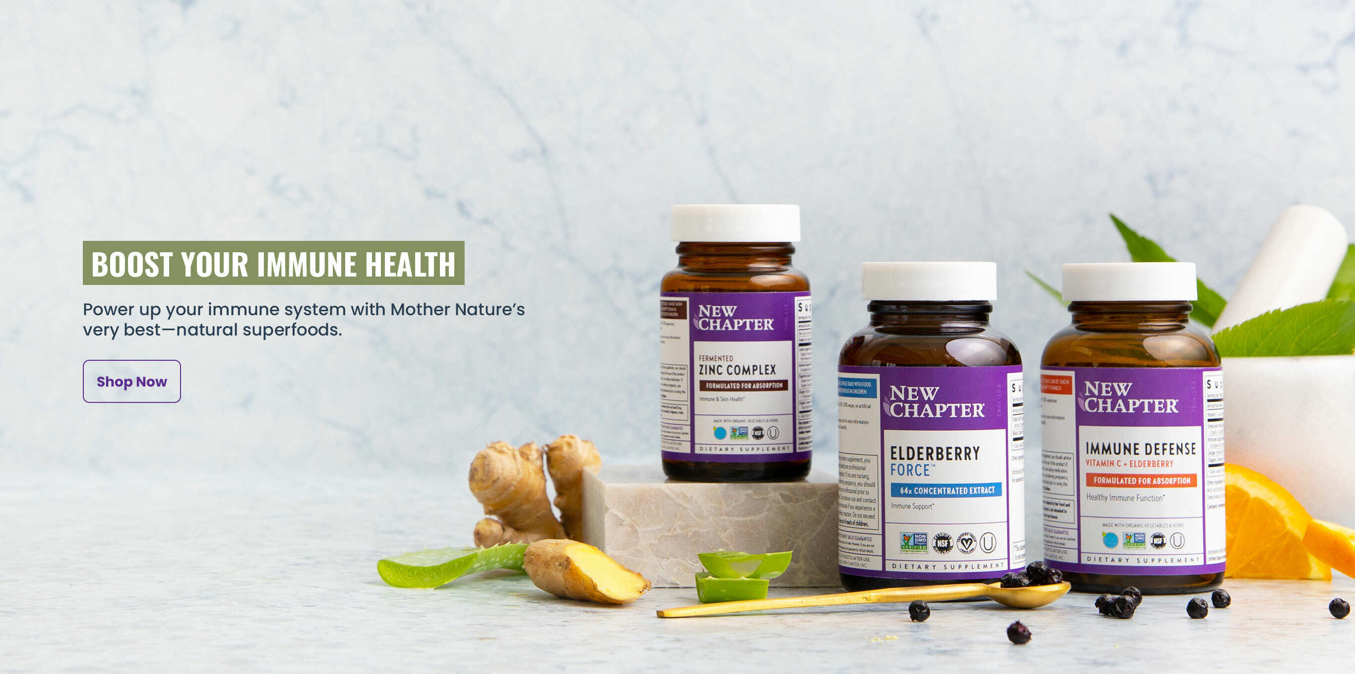BOOST YOUR IMMUNE HEALTH