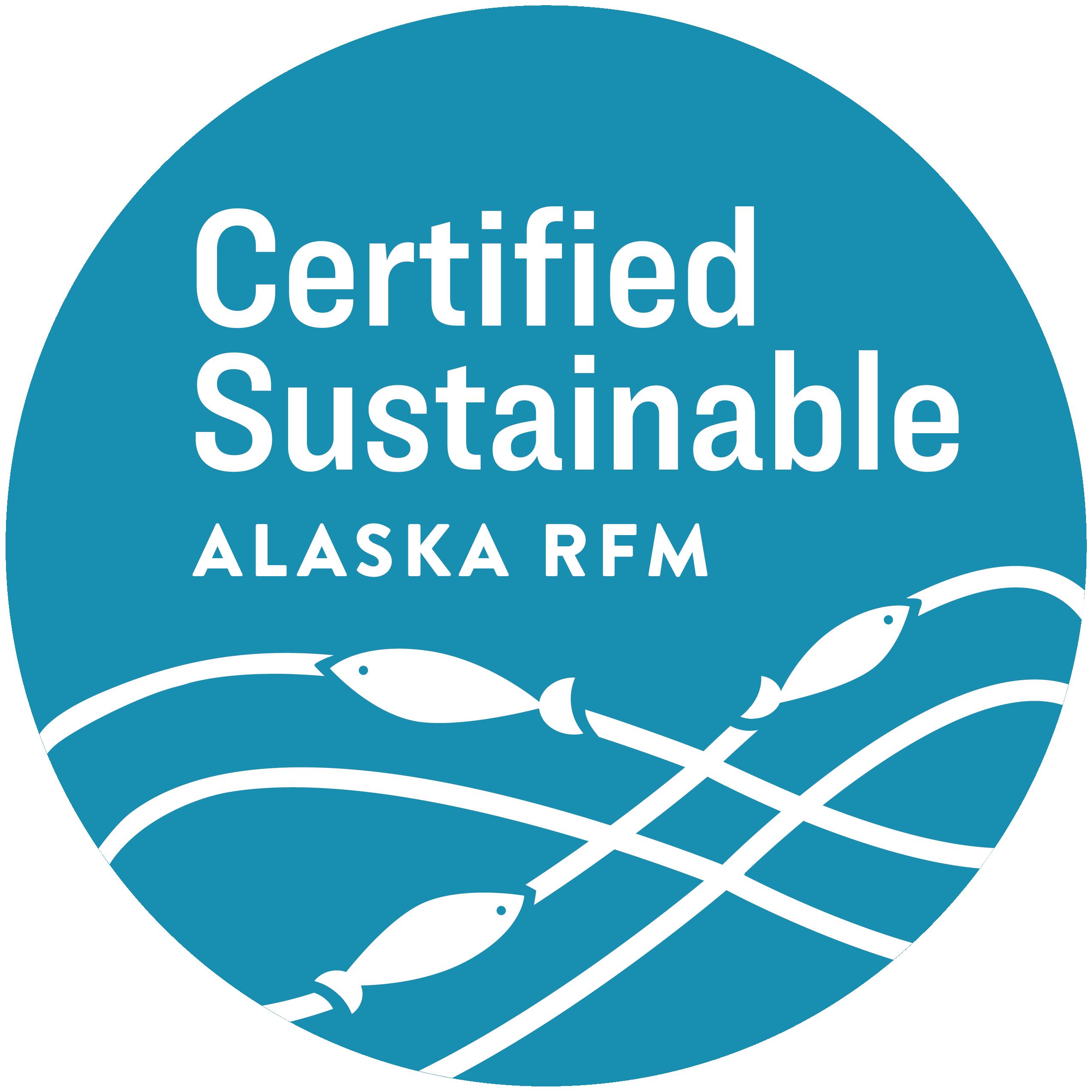 Certified Sustainable Alaska RFM Logo