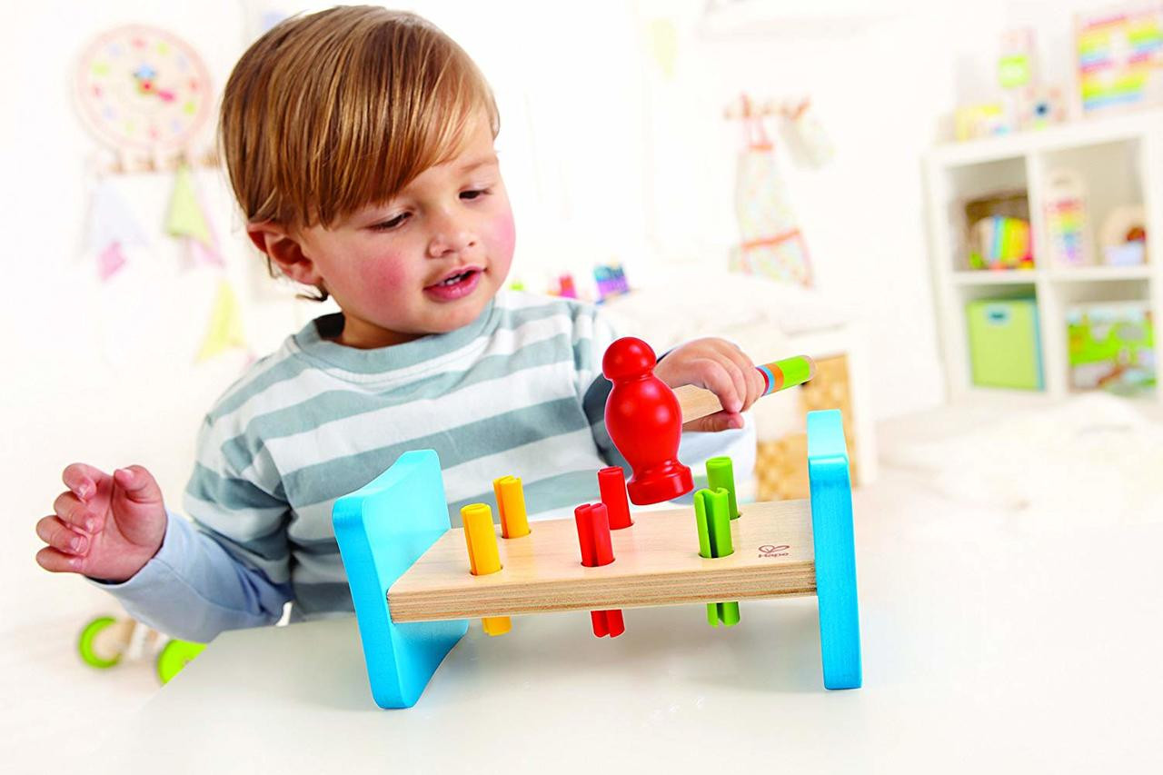 Hape Wooden Little Pounder Toy