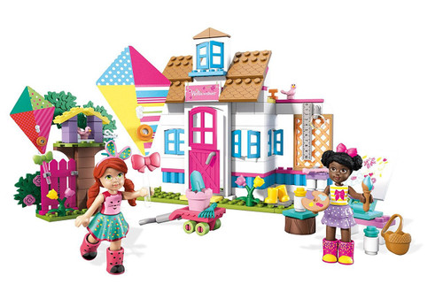 Welliewishers Playful Playhouse Buildable Playset