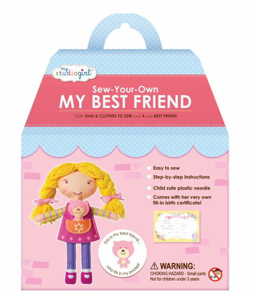 My Studio Girl Best Friend Dolls - Blonde