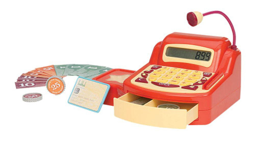 Battat Cash Register Toy Playset