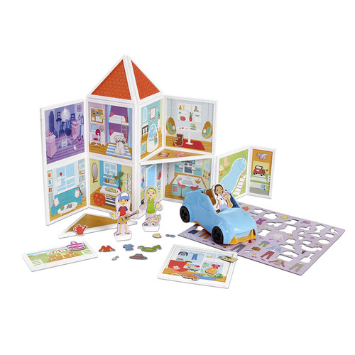 Melissa & Doug Magnetivity Magnetic Our House