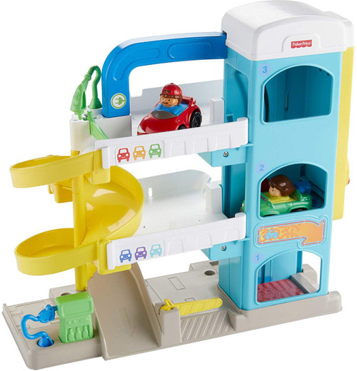 Fisher-Price Little Neighborhood Garage