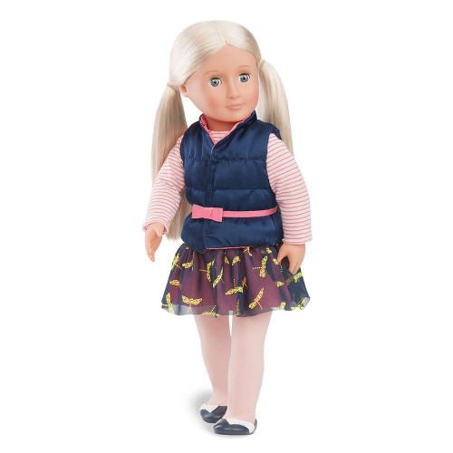 """Our Generation 18"""" Kiana doll"""
