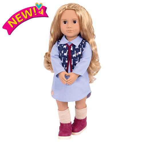 """Our Generation 18"""" Amalia Doll"""