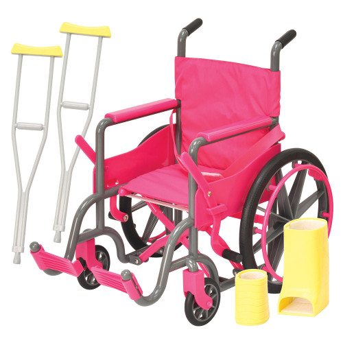 Doll Wheelchair and Accesories