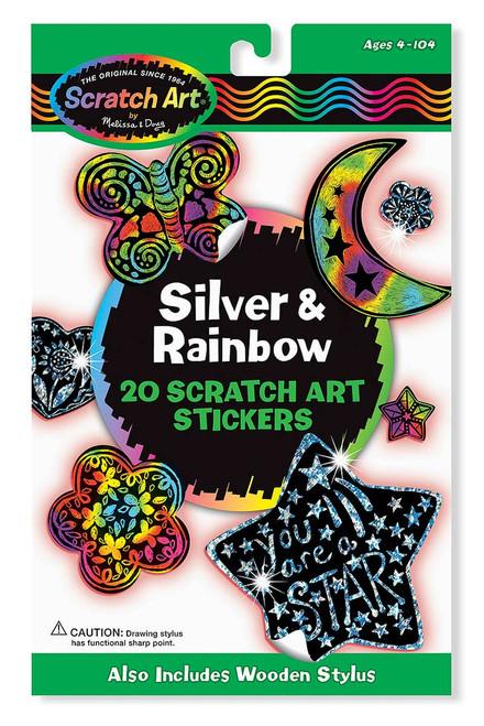 Melissa & Doug Scratch Art Stickers