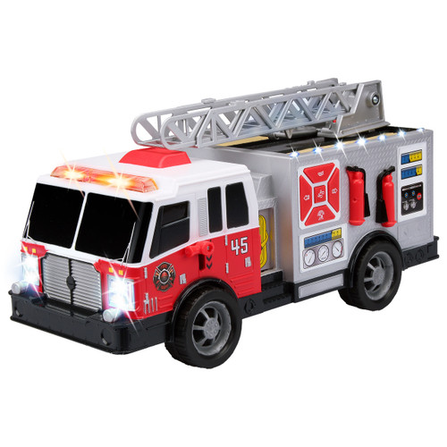 City Worker Fire Truck