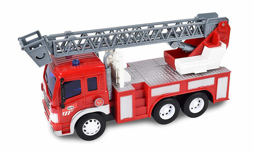Fire Rescue Ladder Toy Truck