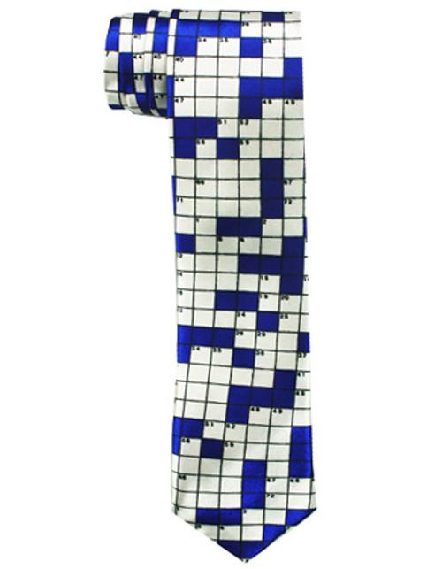 Crossword Tie