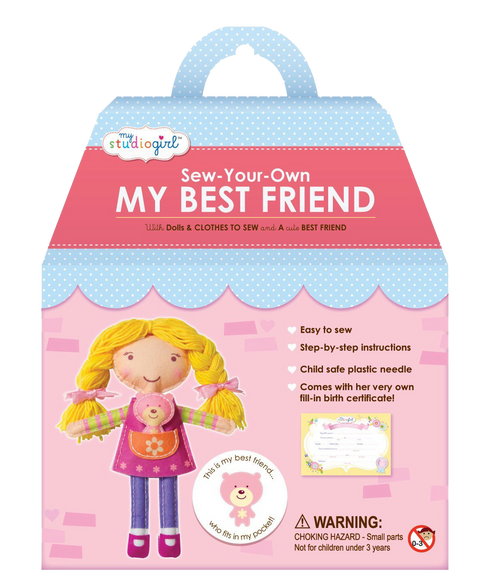 Sew Your Own Best Friend Blond Doll