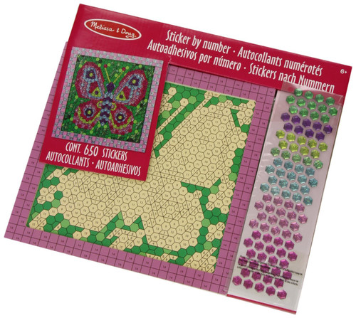 Peel and Press Mosaics Sticker by Number Kit