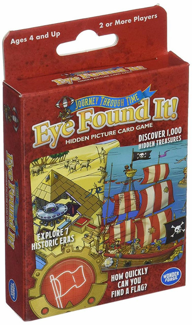 Eye Found It! Journey Through Time Card Game
