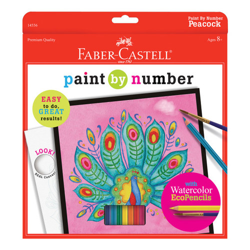 Paint by Number Peacock