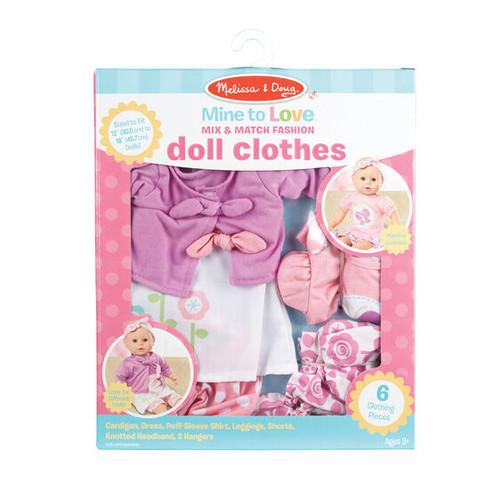 Mine to Love Mix & Match Fashion Doll Clothing