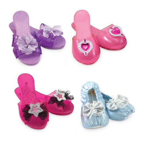 Melissa and Doug Set of 4 Shoes