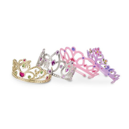 Melissa and Doug Set of 4 Tiaras