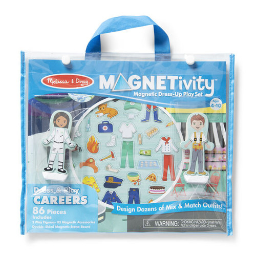 Magnetic Dress & Play Careers