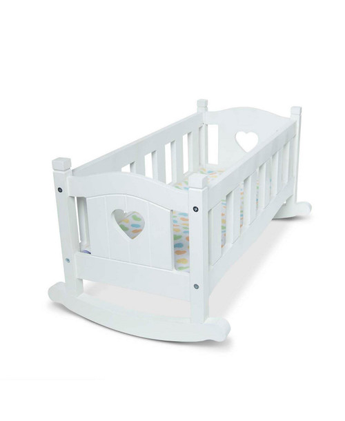 Melissa and Doug Wooden Doll Cradle