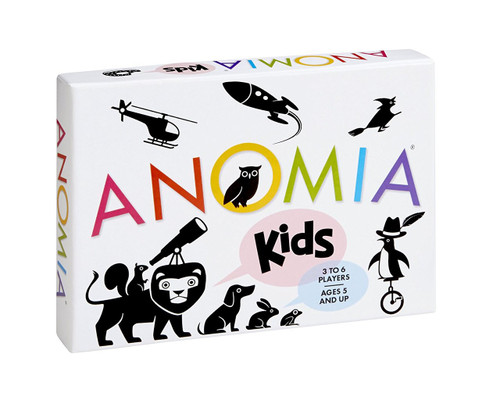 Anomia Kids Children's Card Game