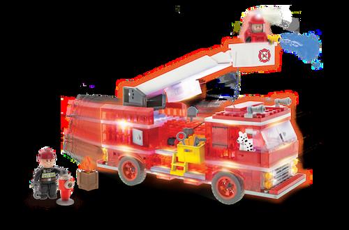 Laser Pegs Fire Truck